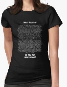 Standard Model Lagrangian T-Shirt