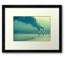 Under Cover - Geelong Framed Print