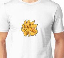 Kitsune Chibi Fox Unisex T-Shirt