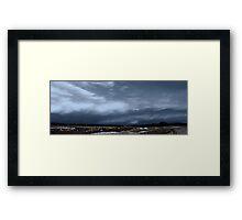 Severe Storm Cell  Framed Print