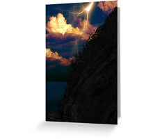 Nether Worlds: The Black Hill Point Incident Greeting Card