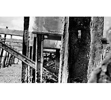 Abandoned Wharf Photographic Print