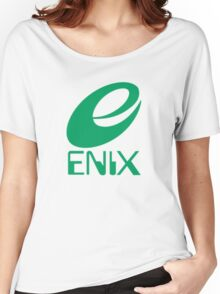 ENIX Logo Green Women's Relaxed Fit T-Shirt