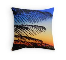 Sizzling Hot Summer Night In The City Of Perth Western Australia Throw Pillow