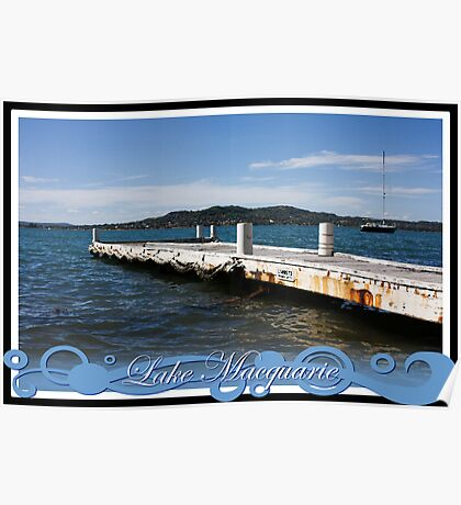 Private Jetty Poster