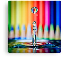...the pencil sharpener... Canvas Print
