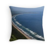 Seven Mile Beach NSW Throw Pillow