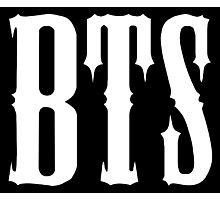 BTS/Bangtan Boys Predebut Logo Photographic Print