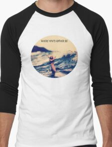 surf life  Men's Baseball ¾ T-Shirt