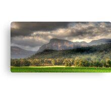 Valley of Light And Shadows- Capertee Valley, Australia - The HDR Experience Canvas Print