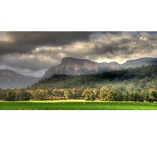 Valley of Light And Shadows- Capertee Valley, Australia - The HDR Experience Photographic Print