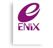 ENIX Logo Purple Canvas Print