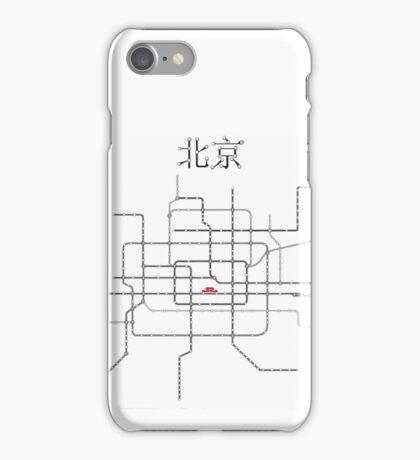 Beijing Subway Map iPhone Case/Skin