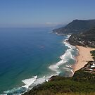 The Red Hang-glider, Stanwell Tops, NSW by Clare McClelland