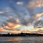 Our Town - Newcastle NSW Australia by Bev Woodman
