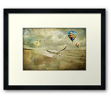 A perfect idea of freedom ... Framed Print