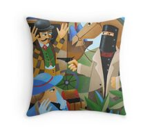 BAILED UP Throw Pillow