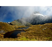 Mackinnon Pass Milford Track Photographic Print