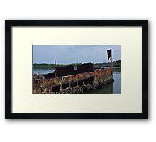Oyster Boat Framed Print