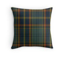 00299 Antrim County District Tartan  Throw Pillow