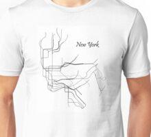 New York Subway Map Unisex T-Shirt