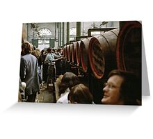 CG8 Covent Garden Beer Festival, London, 1975. Greeting Card
