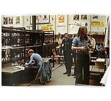 CG7 Covent Garden Beer Festival, London, 1975. Poster