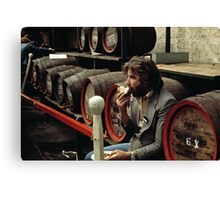 CG3 Covent Garden Beer Festival, London, 1975. Canvas Print