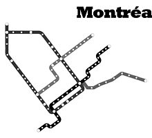 Montreal Subway Map by YannickP