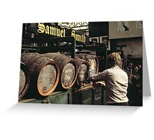 CG1 Covent Garden Beer Festival, London, 1975. Greeting Card