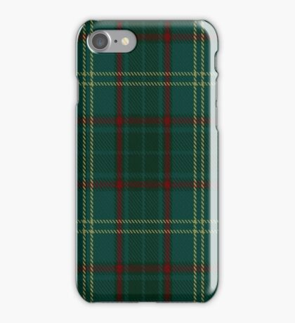 00300 Armagh County District Tartan  iPhone Case/Skin