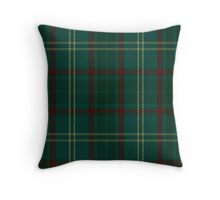 00300 Armagh County District Tartan  Throw Pillow