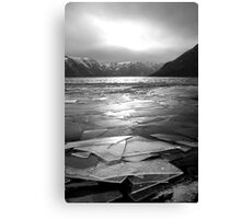 Icy Loch Canvas Print