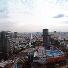 Saigon By Day Ho Chi Minh City Vietnam by Andrew Bodycoat
