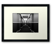 Long Hall Framed Print