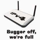 IPv4 Bugger off, we are Full by wolfcat