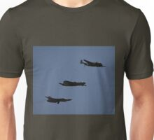 Amberley Airshow 2008 - Bomber Formation Flypast Unisex T-Shirt