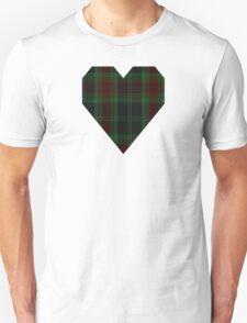 00302 Carlow County District Tartan  T-Shirt