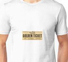 Wonka - Golden Ticket Unisex T-Shirt