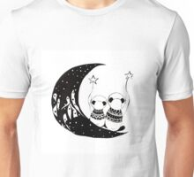 Panda's adventures Unisex T-Shirt
