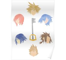 Kingdom Heart's Heroes Poster