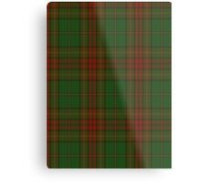 00304 Cavan County District Tartan  Metal Print
