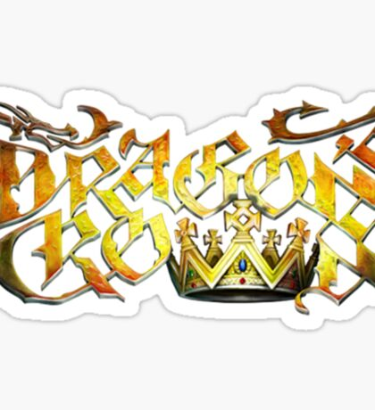 Dragon's Crown Logo Sticker