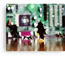 Holly in Cyberland Canvas Print