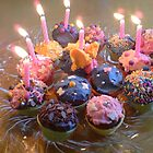 Birthday Cupcakes 7 by Norman Perelson