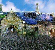 Derilict Building by Trevor Kersley