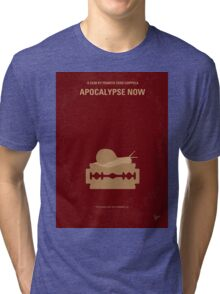 No006 My Apocalypse Now minimal movie poster Tri-blend T-Shirt