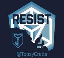 Resist SA TopsyCretts by Matthew Reid