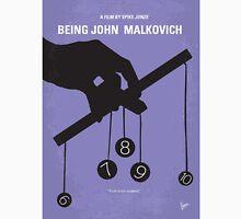 No009 My Being John Malkovich minimal movie poster T-Shirt