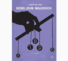 No009 My Being John Malkovich minimal movie poster Unisex T-Shirt